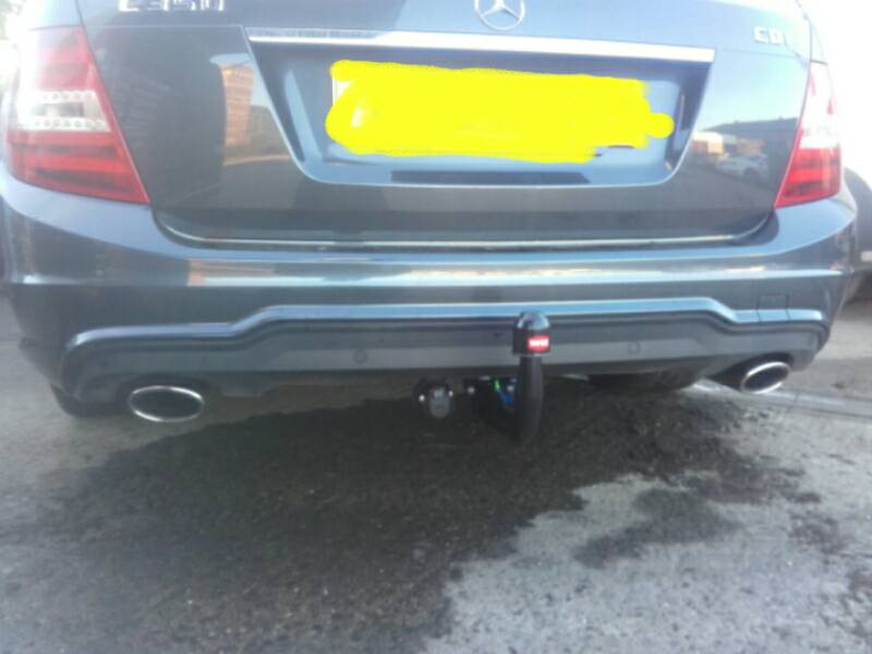 Mercedes-Benz C350 With a Witter Tow Bar and electrics
