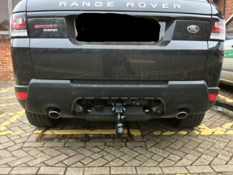 Range Rover Sport after tow bar fitting